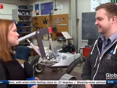 Global News Interview – Mars Rover